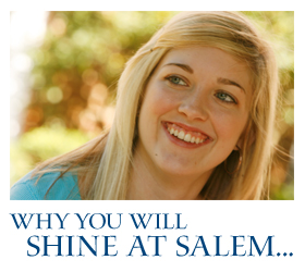 Why you'll shine at Salem