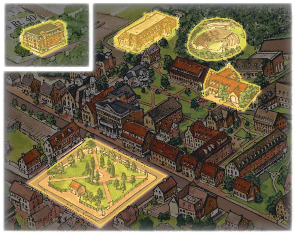 Salem College Campus Map.Salem 360 Virtual Tour Salem College