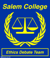 Salem College Ethics Debate Team