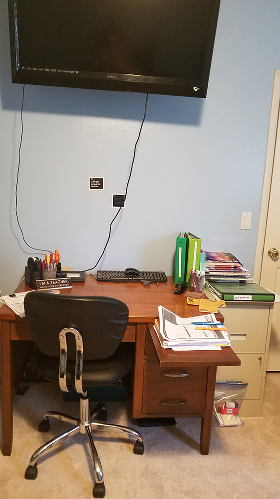Photo of Annette's Desk