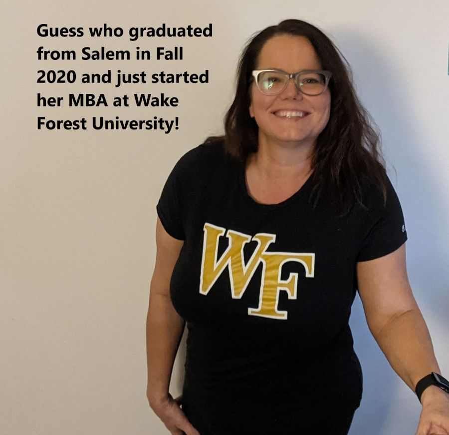 Kristin Ring Fleer Graduate now at WFU for MBA