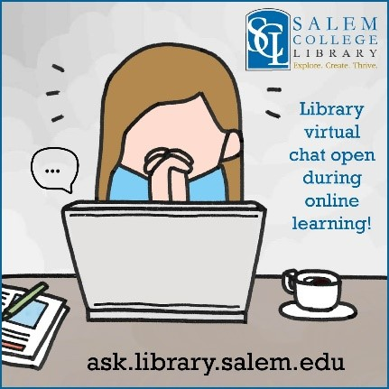Library Chat Cartoon