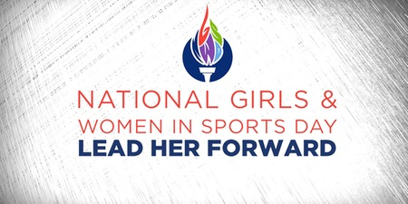 national girls and women in sports day lead her forward