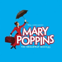 Image of logo for Mary Poppins: The Broadway Musical