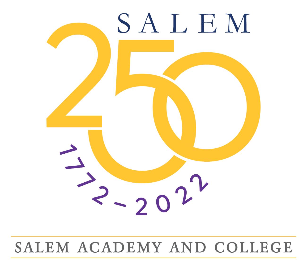 Salem 250 Logo With Academy College