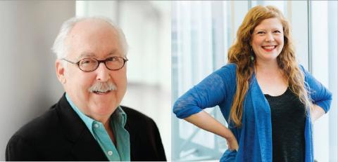 Kenneth Frazelle and Jodi Burns