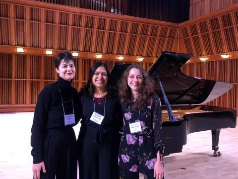 Salem Graduate Students at the MTNA Symposium