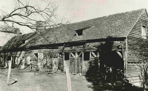 The Single Sisters Kitchen-courtesy of the Wachovia Historical Society