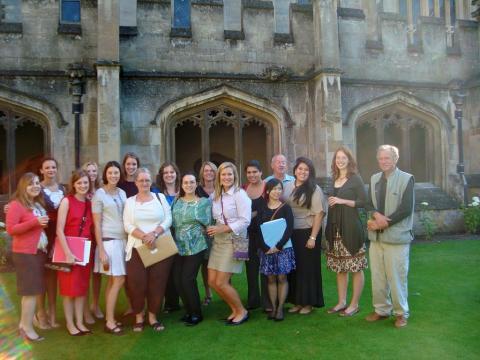 Salem students at Oxford