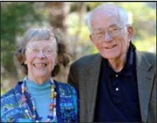 Margaret Mueller with husband