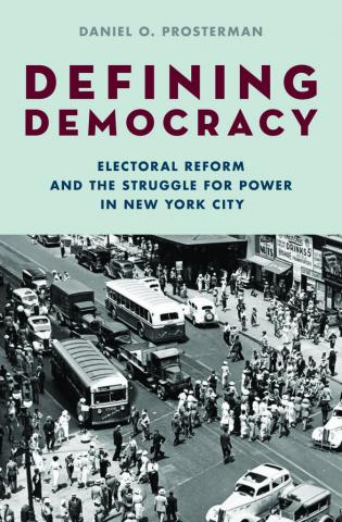 book cover: DEFINING DEMOCRACY