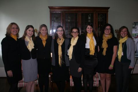 Salem students at Ethics Bowl