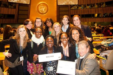 Salem students at Model UN