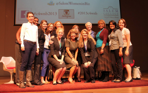 Salem students at the Lean In Women's Conference