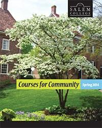Summer 2014 Courses for Community Cover