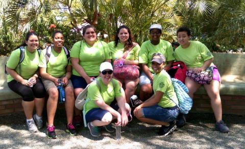 photo of Salem students in the Dominican Republic