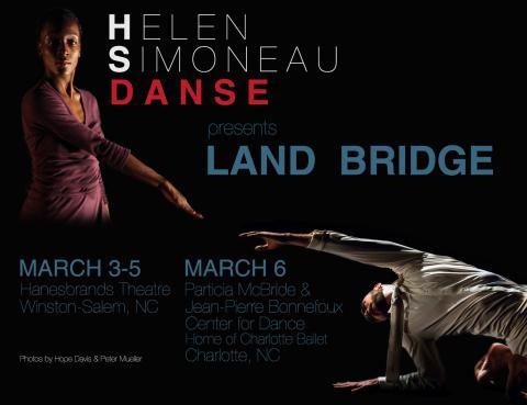 Helen Simoneau Danse postcard; see page for details