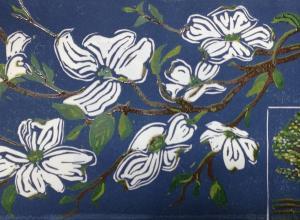 Image of artwork by Winston-Salem printmaker Barbara Mellin