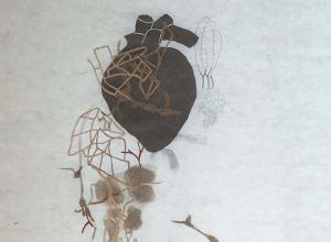 Image of artwork by Winston-Salem printmaker Leslie Smith