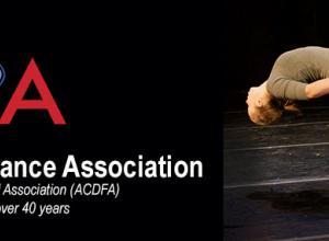 American College Dance Association banner