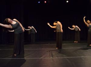 Photo of dancers in motion