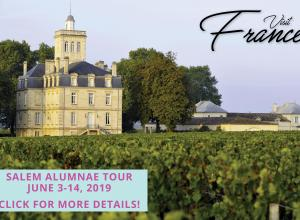 Salem Alumnae Tour to France