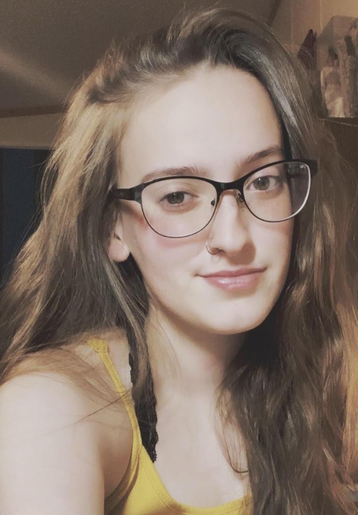 Megan Pleimann in glasses